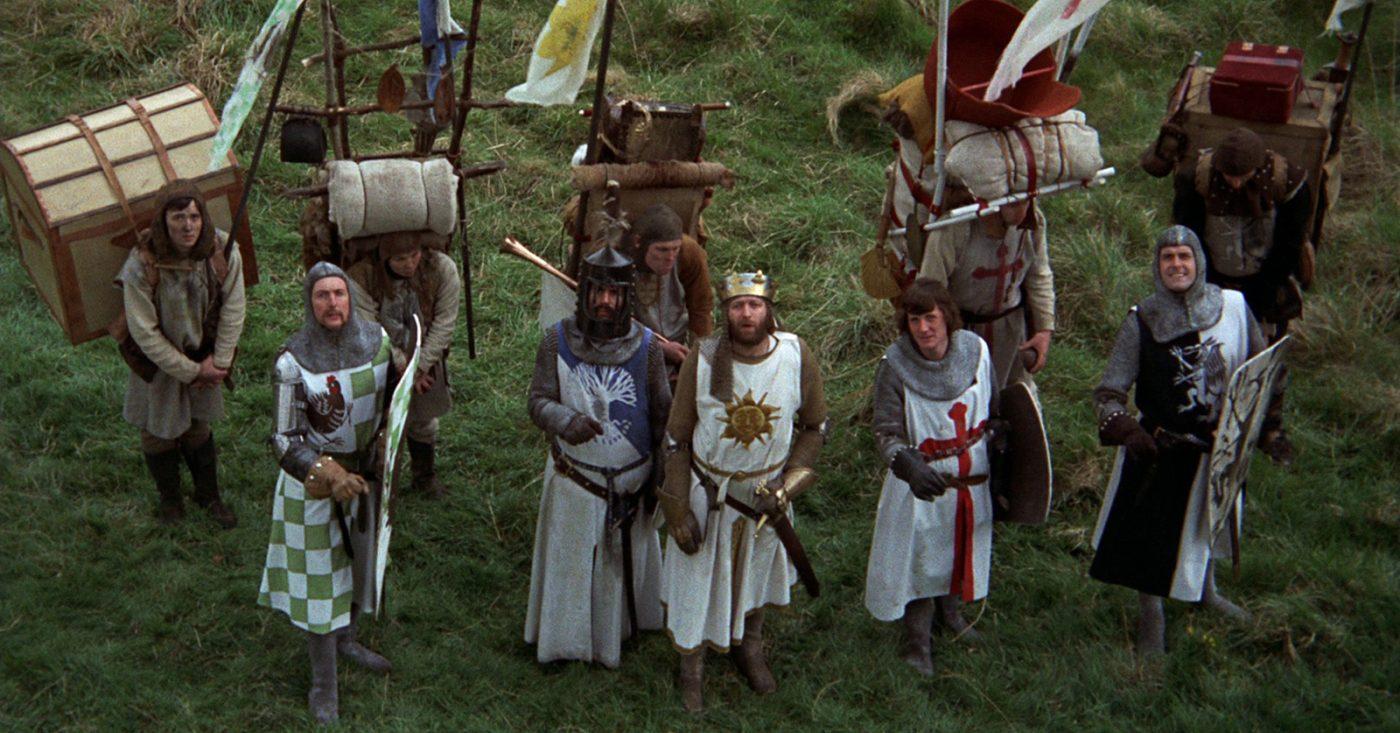 Monty Python og ridderne av det runde bord