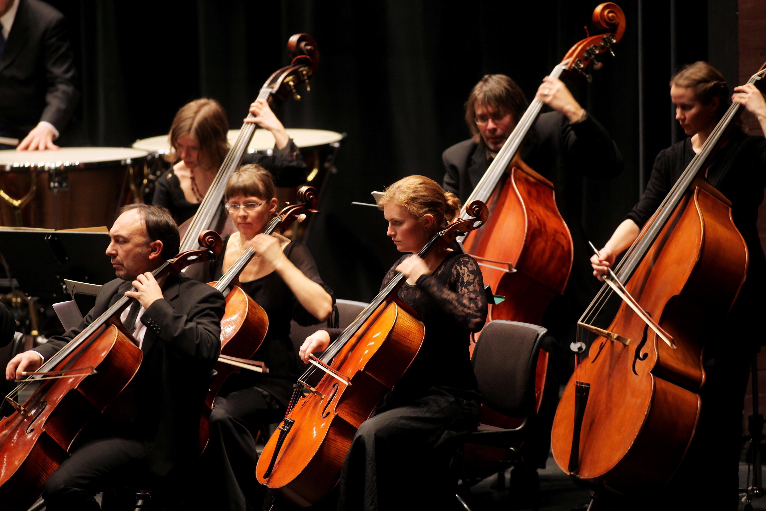Nordnorsk Opera og Symfoniorkester. Foto: Yngve Olsen Sæbbe