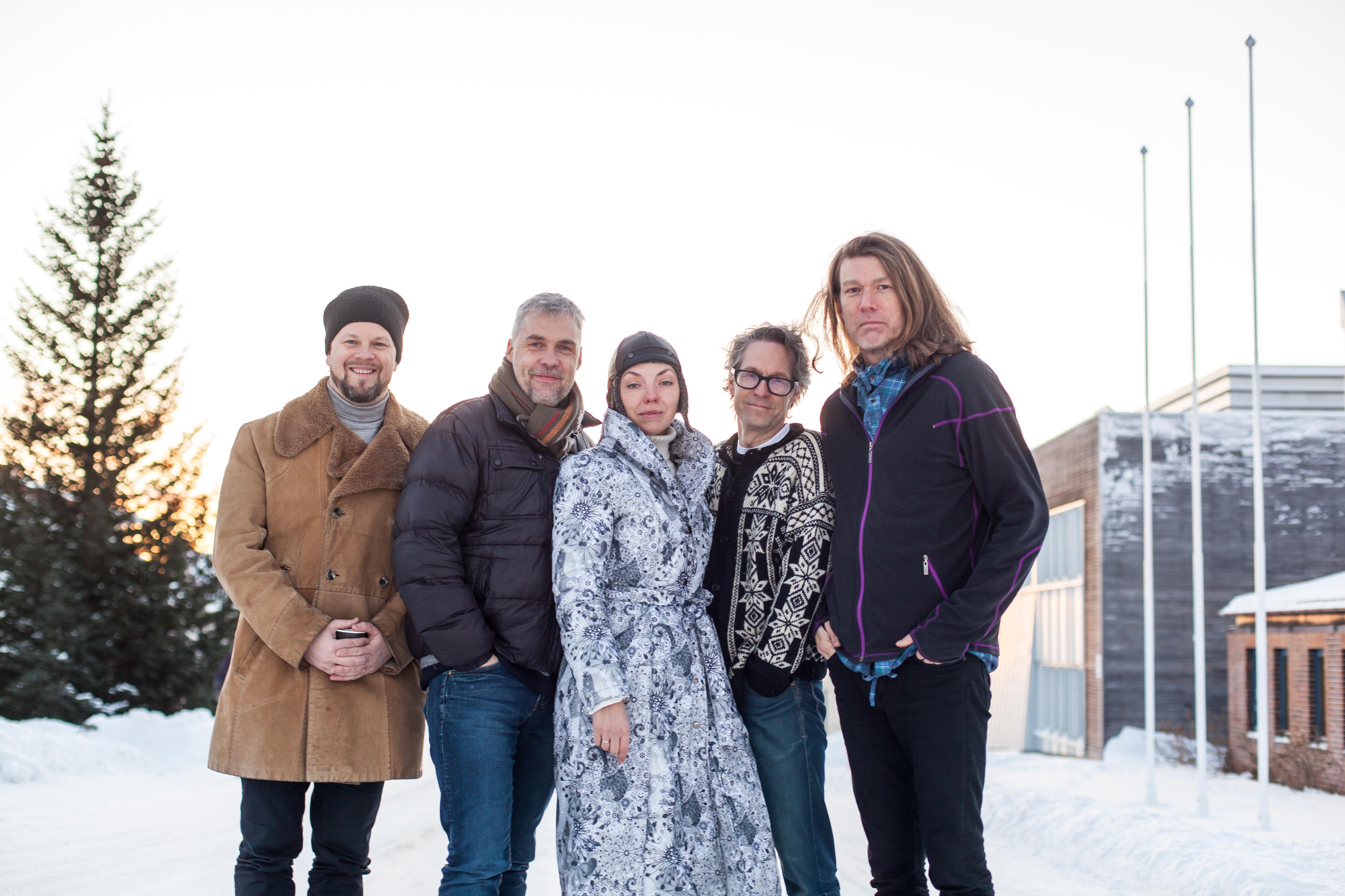 Årets Barentsband. Foto: Eva Stensland