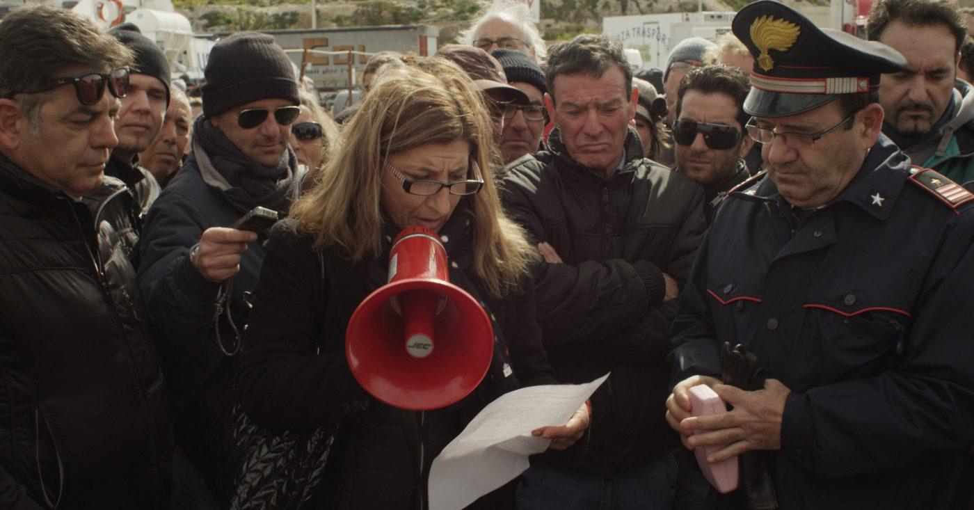 På flukt: Lampedusa in Winter