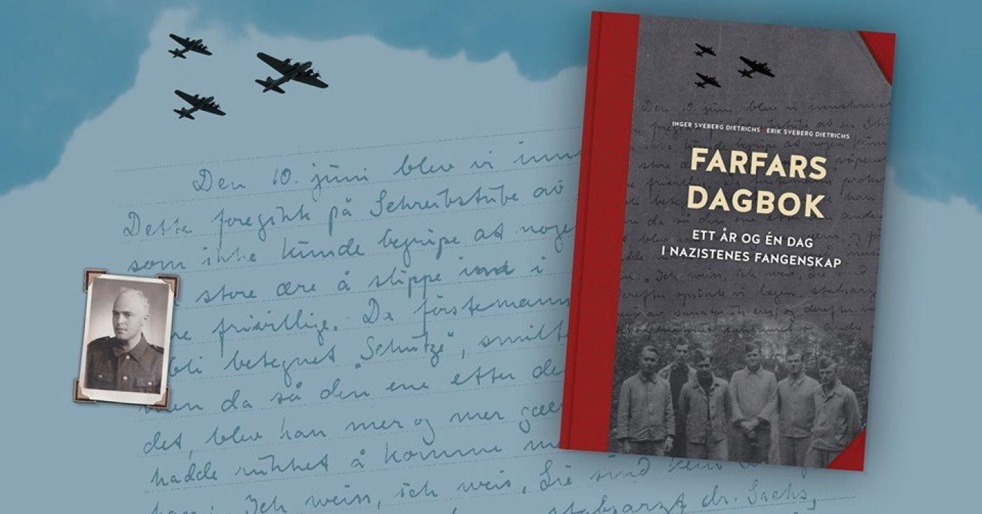 BOKLANSERING: Farfars dagbok - ett år og én dag i nazistenes fangenskap