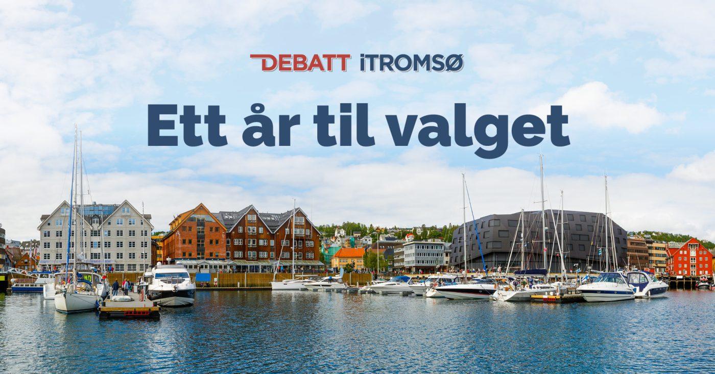 Debatt iTromsø: Ett år til valget