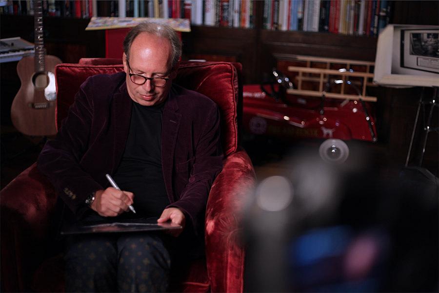 Hans Zimmer er en av Hollywoods mest ettertraktede komponister, og har blant annet laget musikken til The Dark Knight-trilogien, The Lion King og Inception.
